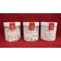 Pot de mini meringues blanches forme gouttes 100g