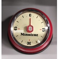 Minuteur retro magnet rouge