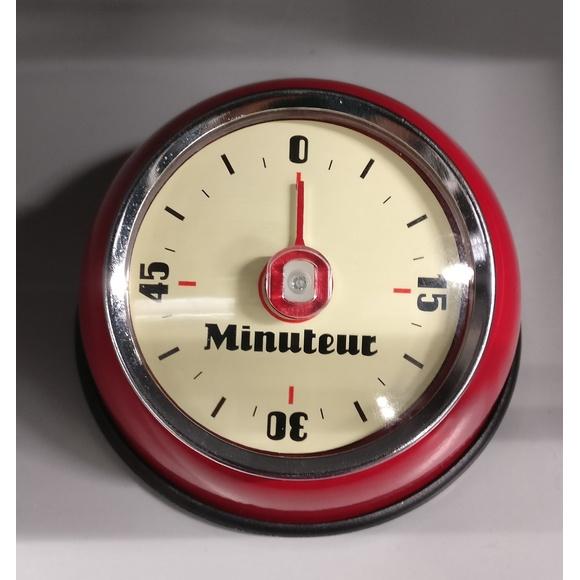 Timer magnetico retrò rosso