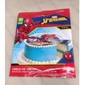 Disque de décoration en sucre Spiderman 16cm 48g