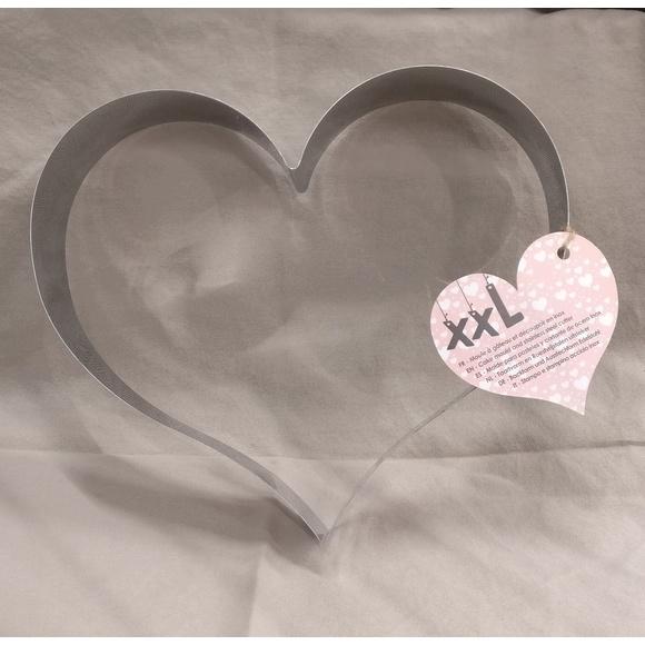 Stampo inox XXL cuore