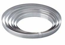 Achat en ligne Cercle à pâtisserie perforé en acier 15cm haut 3,5cm
