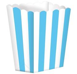 Achat en ligne Set de 5 boites à pop-corn en carton