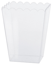 Achat en ligne Pot à pop corn en plastique transparent