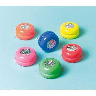 Set de 12 mini yoyos