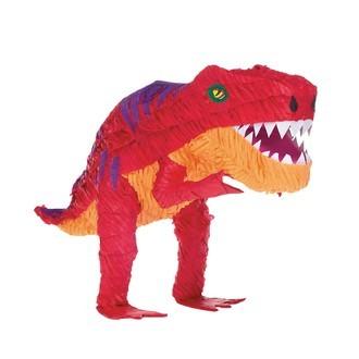 Pinata en papier dinosaure t-rex
