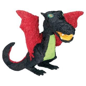 Pinata en papier dragon noir