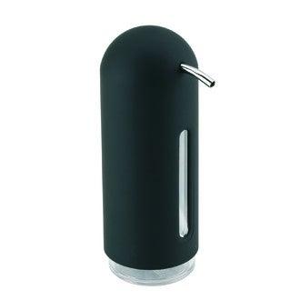 UMBRA - Distributeur de savon liquide en acrylique et plastique noir Penguin 354ml