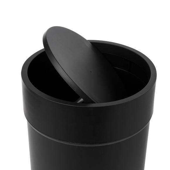 Achat en ligne Poubelle à bascule soft touch noir