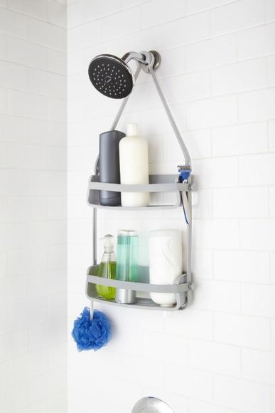 Achat en ligne Serviteur de douche flex caddy gris