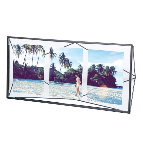 Achat en ligne Multivue prisma en noir 3 vues 10x15cm