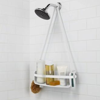 Serviteur de douche flex caddy blanc