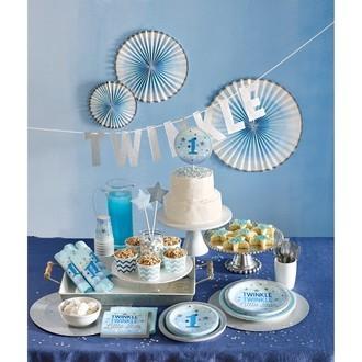 10 sacs à bonbon étoiles bleus