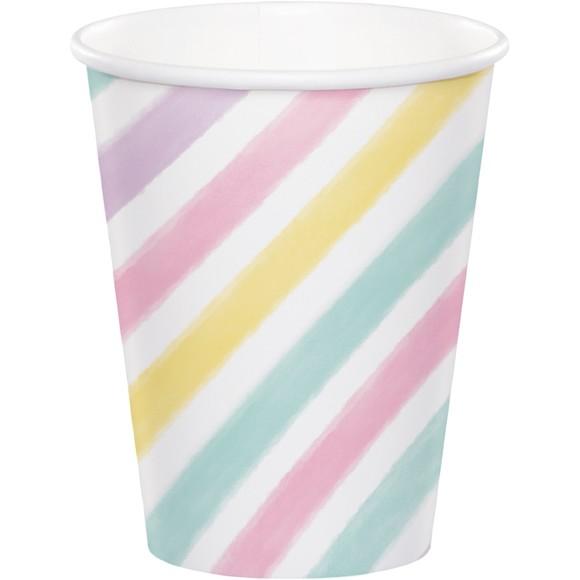 Achat en ligne 8 Gobelets pastels Licorne