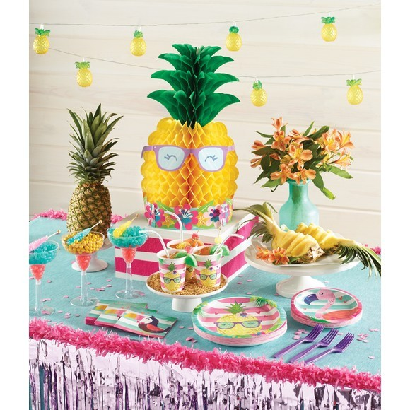 Assiettes Ananas
