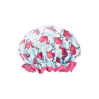 Bonnet de douche Flamant Rose