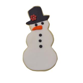 Decoupoir bonhomme de neige blanc