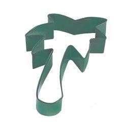 compra en línea Cortapastas en forma de plamera verde (7 x 9 x 2,6 cm)