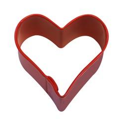 acquista online Mini tagliapasta a forma di cuore rosa