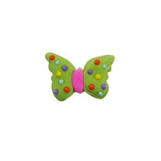 CREATIVE PARTY - Mini découpoir papillon vert