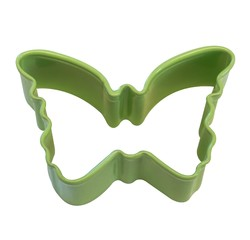 compra en línea Mini molde cortapastas de mariposa de metal (4 x 4,4 cm)