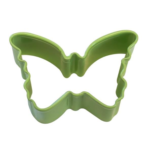 Mini découpoir papillon vert