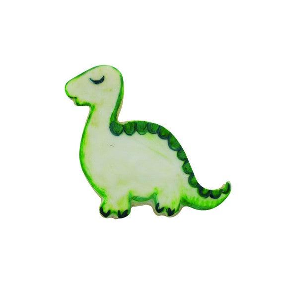 Mini découpoir dinosaure violet
