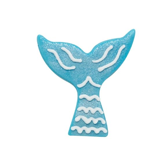 Mini formina sirena blu