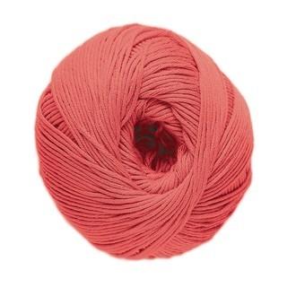 DMC - Pelote de laine pure coton corail natura 50g