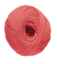 Achat en ligne Pelote de laine pure coton corail natura 50g