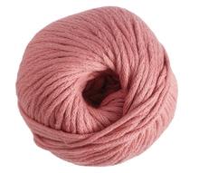 Achat en ligne Pelote de laine pure coton vieux rose natura 100g