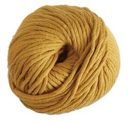 Achat en ligne Pelote de laine pure coton curry natura 100g