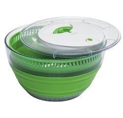 compra en línea Centrifugadora para ensalada plegable verde 5 L (Ø26 x 7 cm)