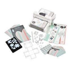 compra en línea Sizzix Big Shot Plus sarter kit A4 máquina de corte y repujado
