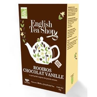 ENGLISH TEA SHOP - Rooibos Chocolat vanille 20 sachets