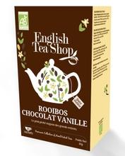 Achat en ligne Rooibos cacao vanille 20 sachets 40g