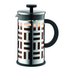Achat en ligne  Cafetière à piston 8 tasses en inox Eileen 1L