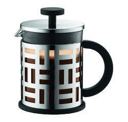 Achat en ligne Cafetière piston 4 tasses inox chromé