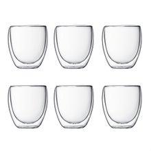 Achat en ligne  Set 6 verres double paroi Pavina 25 cl