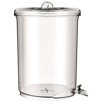 BODUM - Fontaine à boisson en plastique transparent Melior 10L