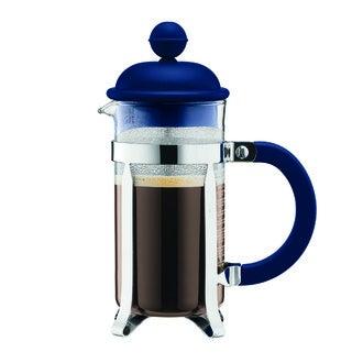 BODUM Cafetière piston 3 tasses bleu marine 0,35L