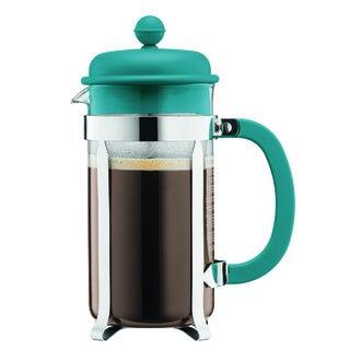 BODUM Cafetière piston 8 tasses turquoise 1L