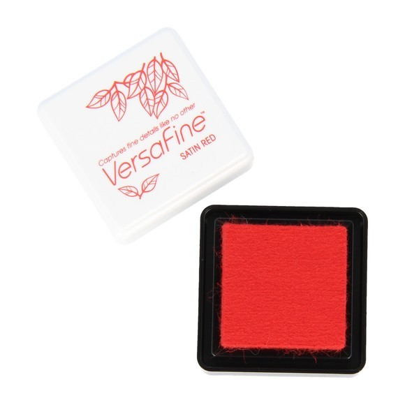 Encreur mini versafine rouge satin