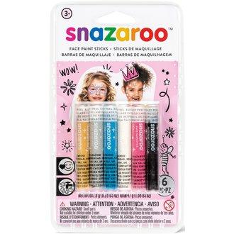 Set de 6 sticks de maquillage pour visage filles
