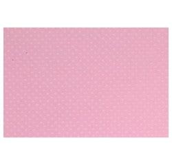Achat en ligne Feuille Bazzil Dot. Rose 30x30cm