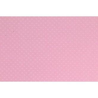 Feuille Bazzil Dot. Rose 30x30cm