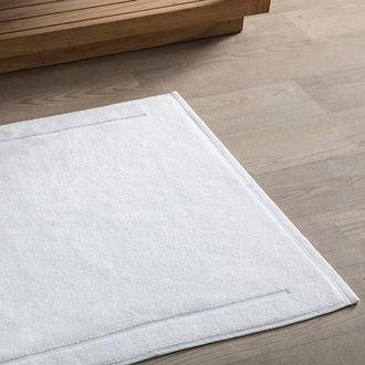 Maom - tapis de bain en éponge blanc 60x60cm 1300g/m²