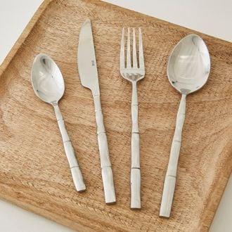 Fourchette en inox bambou