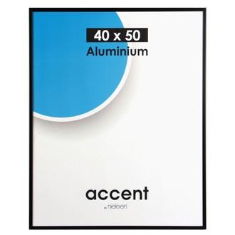 Cadre noir mat accent 40x50cm