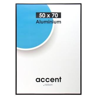 Cadre noir mat accent 50x70cm